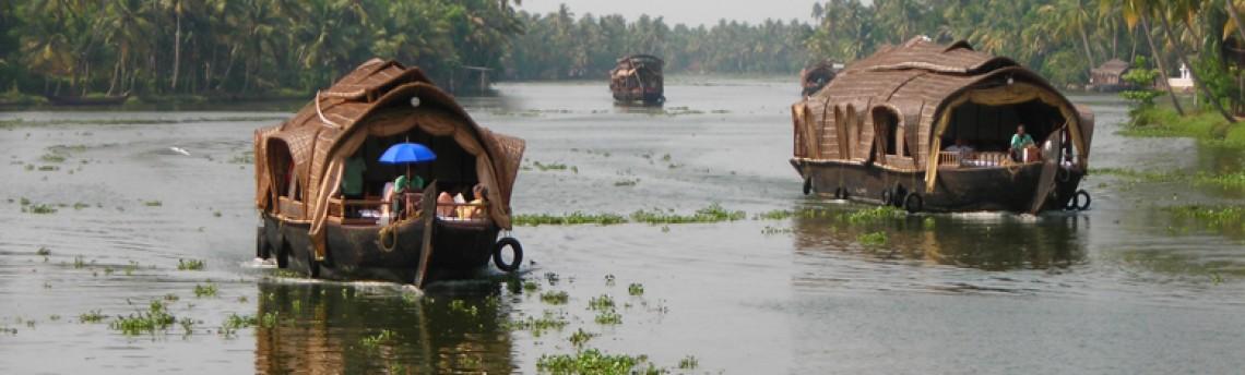 Unterwegs an Keralas Ufern