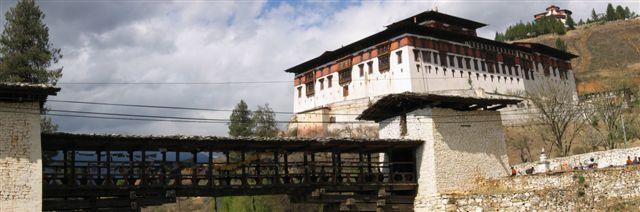 Klöster in Bhutan Pass
