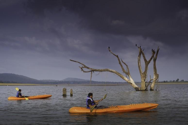 Paddeln Kabini Reservoir