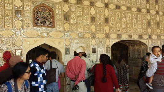 Indien Tour durch Rajasthan Fort Amber
