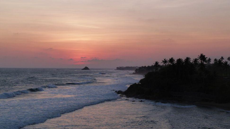 Höhepunkte von Sri Lanka Küste