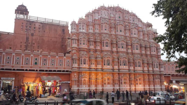 Palast der Winde PlanReisen Indien Tour durch Rajasthan