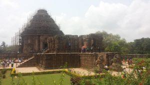 Konark Tempel Orissa