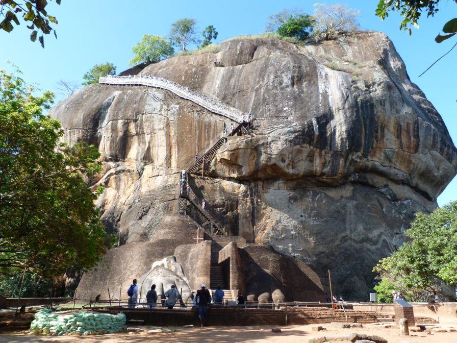 Sirgiria Höhepunkte von Sri Lanka