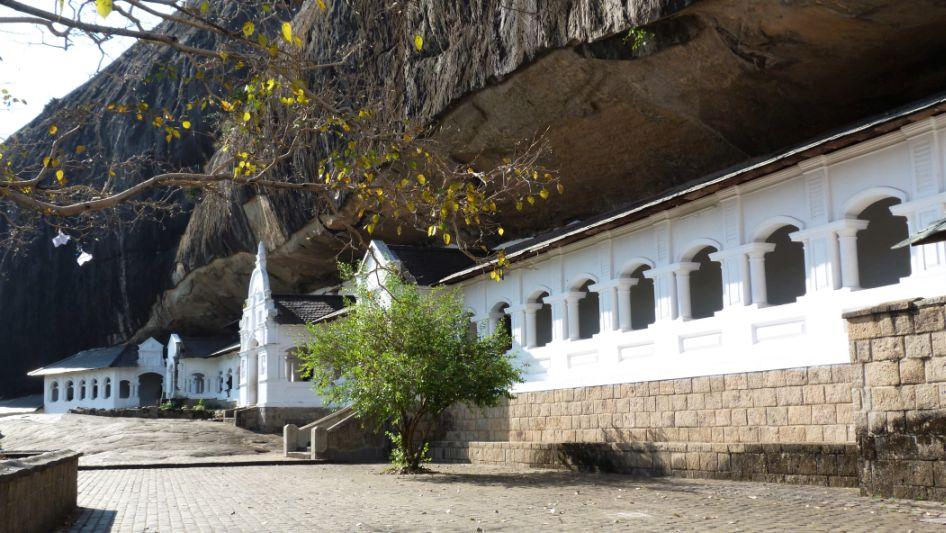 Höhepunkte von Sri Lanka Dambulla Höhlentempel