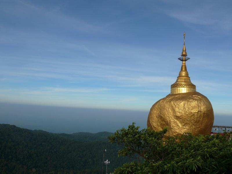 Zauberhaftes Myanmar Kyaikhtiyo, Goldener Felsen