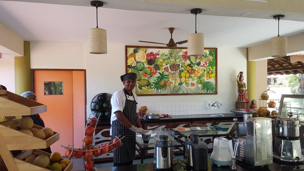 Frischer Saft Saftbar Ayurveda Resort