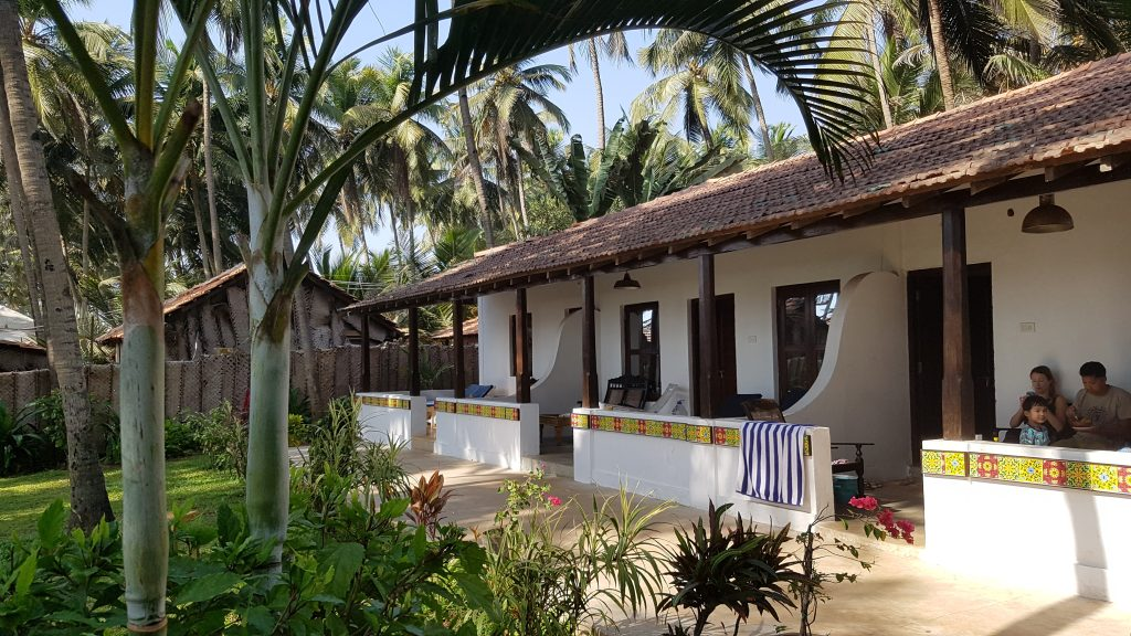 Beach Suite Leela Cottages in Ashwem