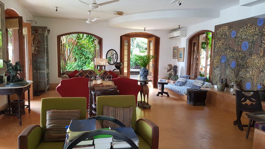 Wohnzimmer Goa