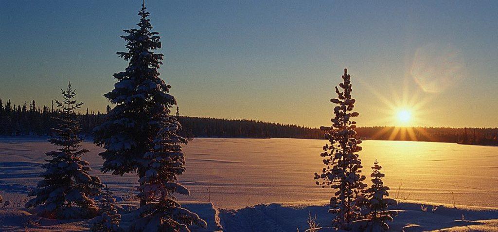 Lappland Finnland Winter