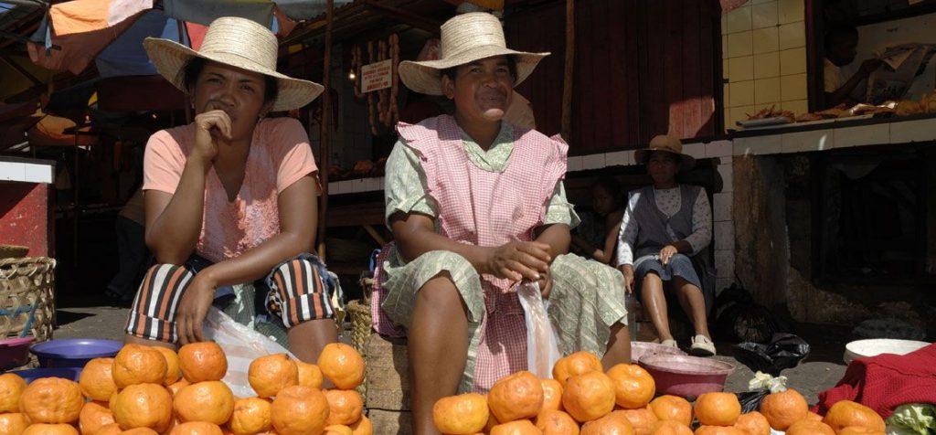 Obsthändlerinnen Madagaskar
