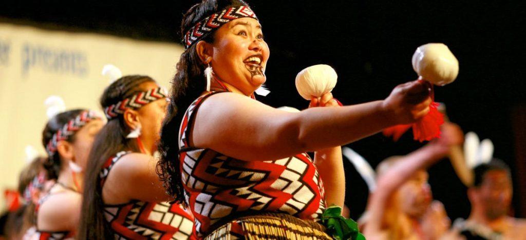 Maori Tanz Neuseeland