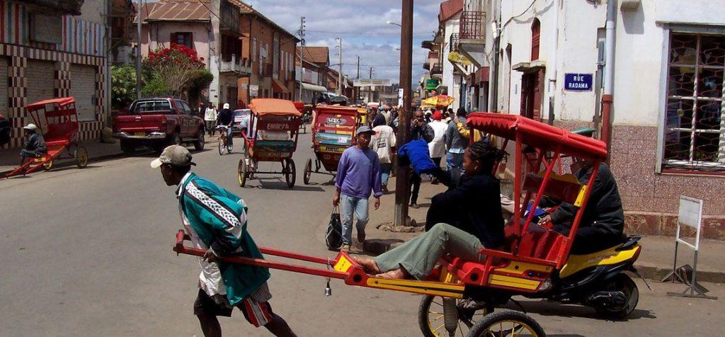 Strassenszene Madagaskar