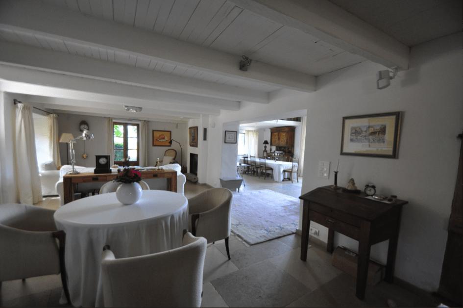 Wohnzimmer Le Lauron Villa Provence