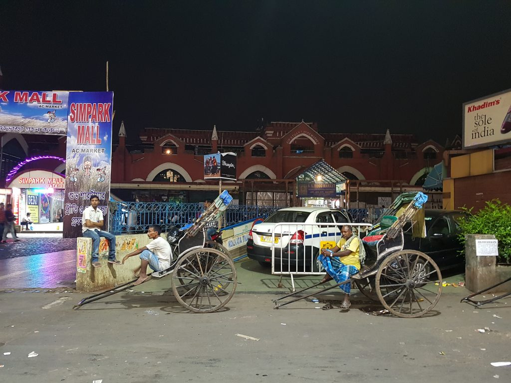 Riksha in Kalkutta