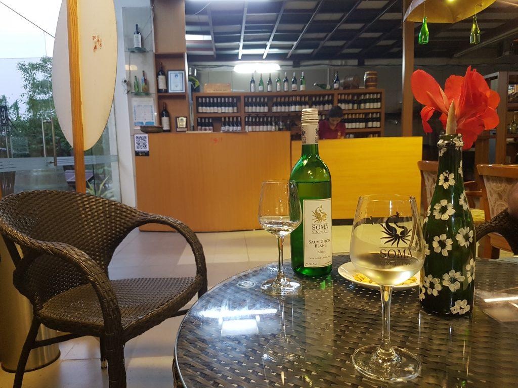 Soma Weinprobe Sauvignon Blanc