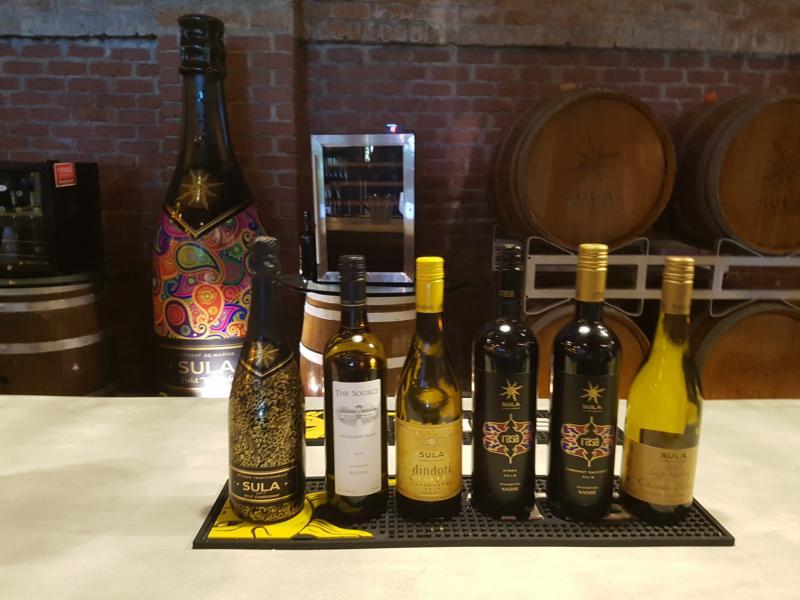Sula Weinverkostung November 2019