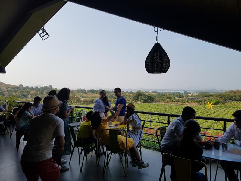 Nashik Weinanbaugebiet