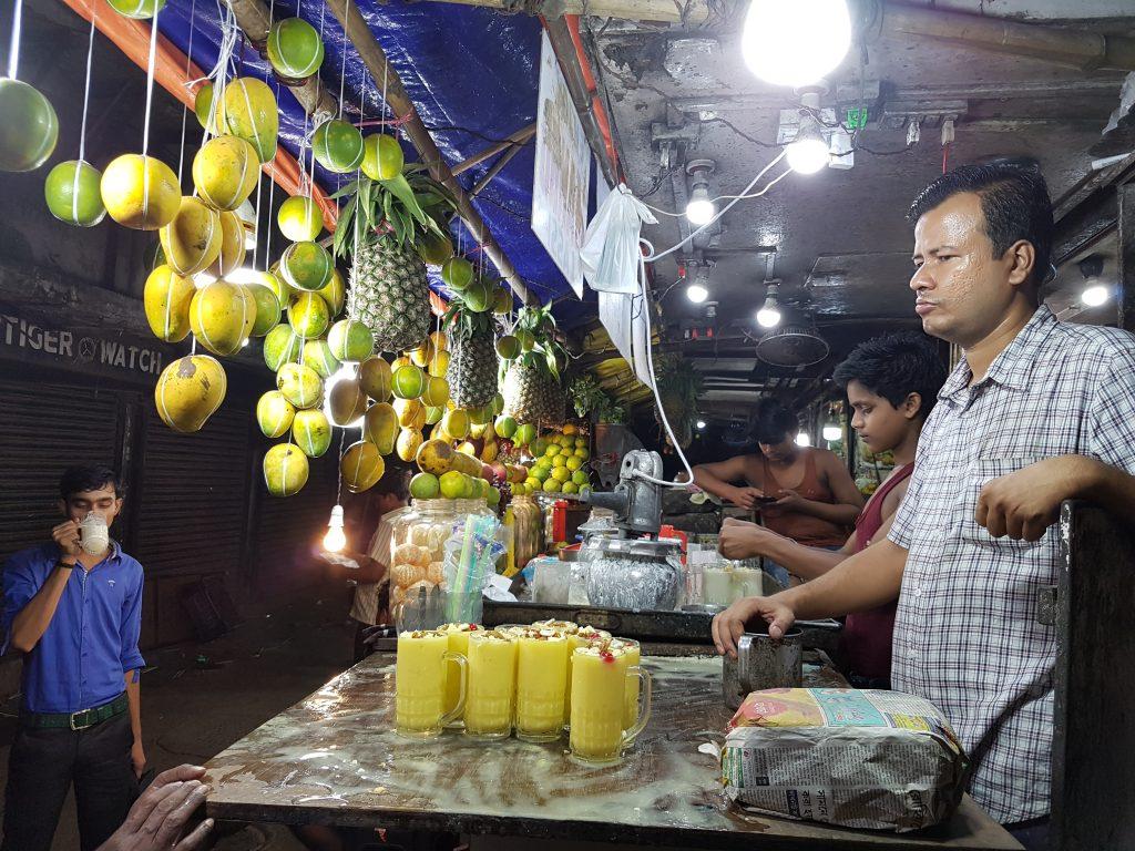 Mango Lassi in Kalkutta
