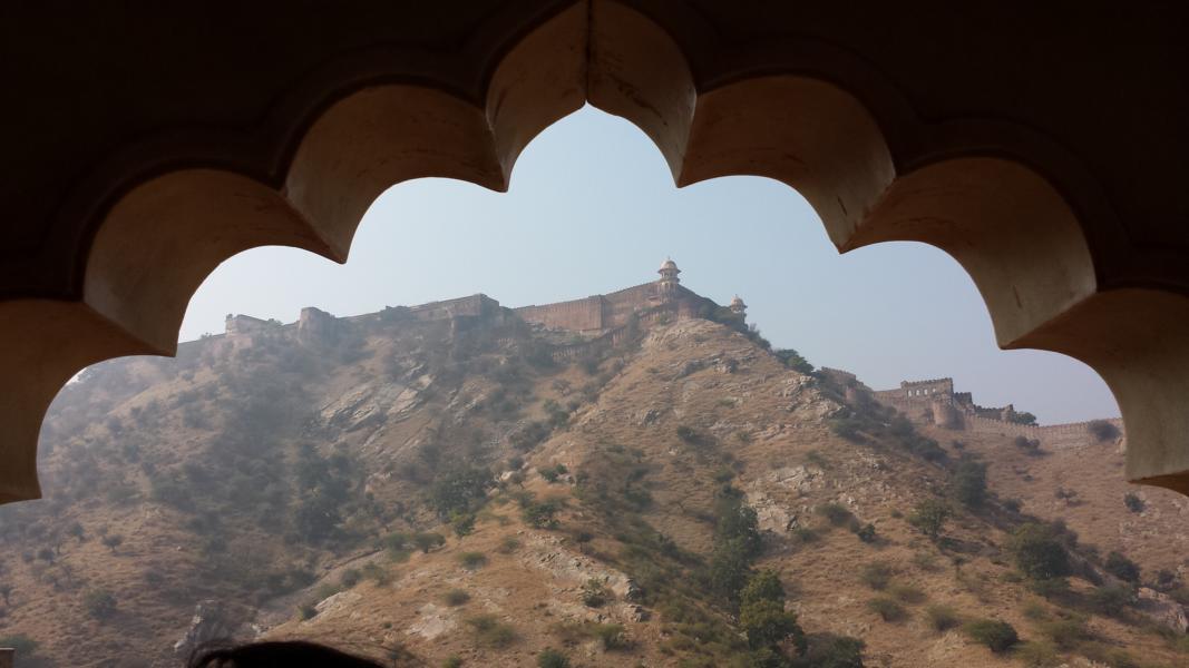 Ausblick vom Amber Fort