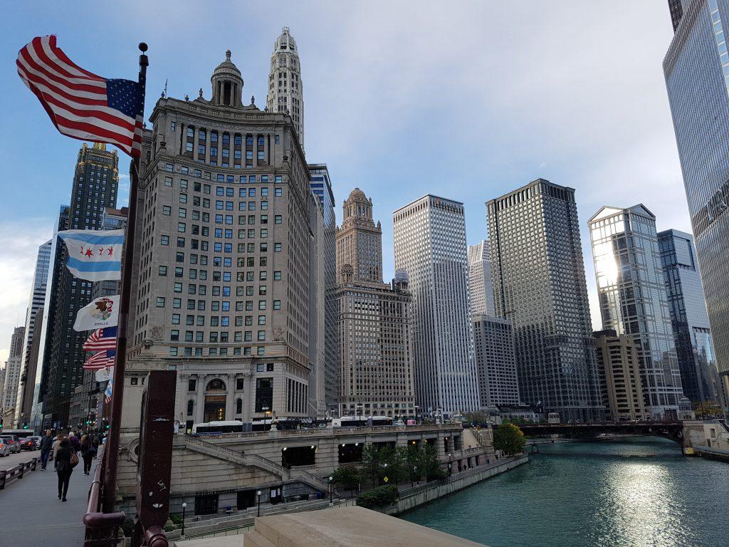 Chicago River USA