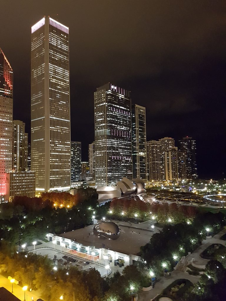 Chicago Athletic Association Millenium Park View