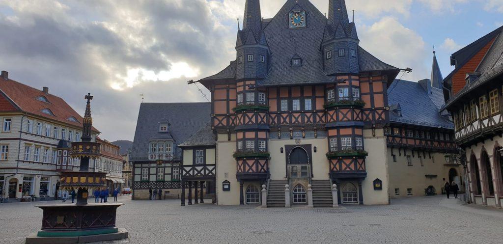 Wernigerode Rathaus der Stadt