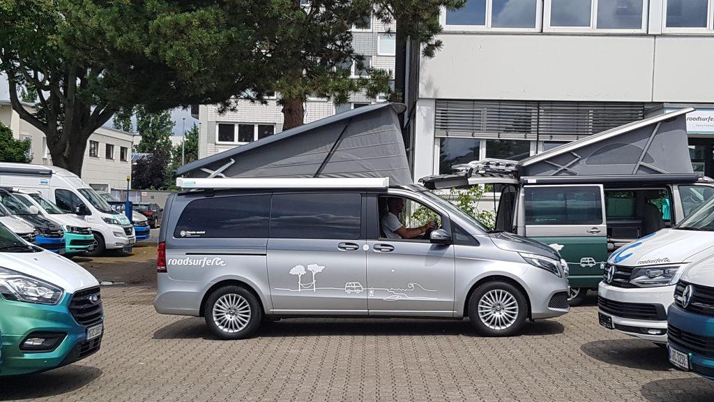 Mercedes Marco Polo Camper Van in Frankfurt