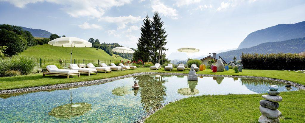 European Ayurveda Resort Sonnhof Vastu Garten