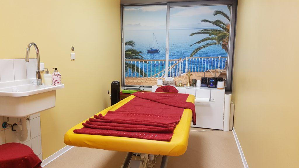 Ayurveda Behandlungszimmer Hotel Fontana